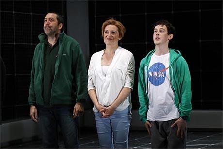 Ian Barford, Francesca Faridany and Alex Sharp