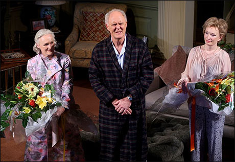 Glenn Close, John Lithgow and Lindsay Duncan
