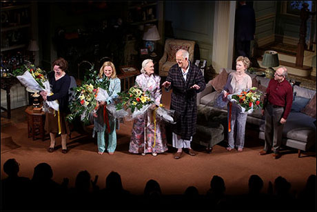 Clare Higgins, Martha Plimpton, Glenn Close, John Lithgow, Lindsay Duncan and Bob Balaban