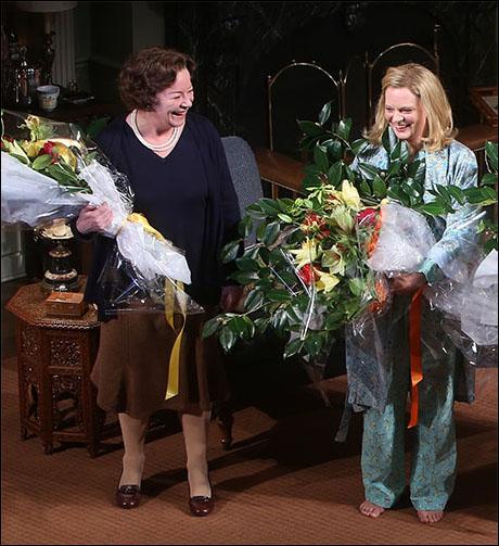Clare Higgins and Martha Plimpton
