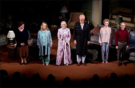 Clare Higgins, Martha Plimpton, Glenn Close, John Lithgow, Lindsay Duncan and Bob Balaban