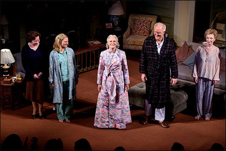 Clare Higgins, Martha Plimpton, Glenn Close, John Lithgow and Lindsay Duncan