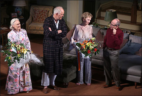 Glenn Close, John Lithgow, Lindsay Duncan and Bob Balaban