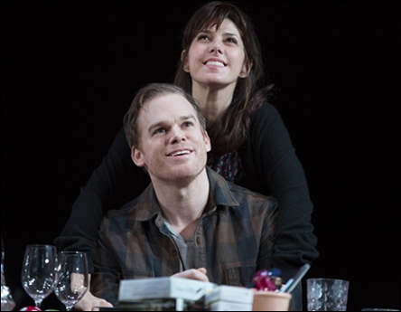 Michael C. Hall and Marisa Tomei in The Realistic Joneses