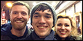 PHOTO EXCLUSIVE: A Two-Show Day at Broadway's The Last Ship With Young Leading Man Collin Kelly-Sord