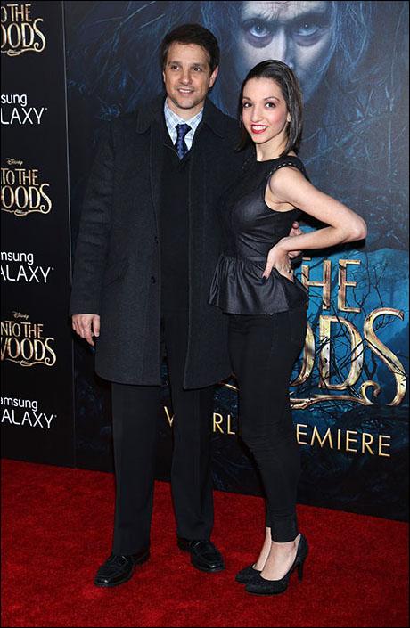 Ralph Macchio and his daughter Julia Macchio