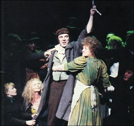 Alun Armstrong and Julia McKenzie in the 1993 London revival