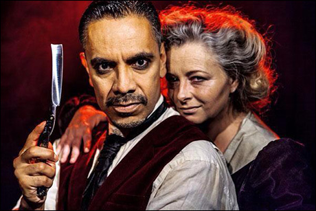 David Bedella and Sarah Ingram star in a fall 2014 production at Twickenham Theatre in West London