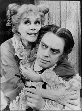 June Havoc and Ross Petty in the 1982 national tour