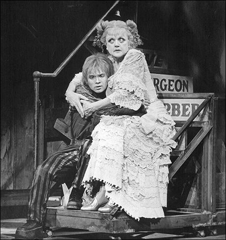 Ken Jennings and Angela Lansbury in the original Broadway production
