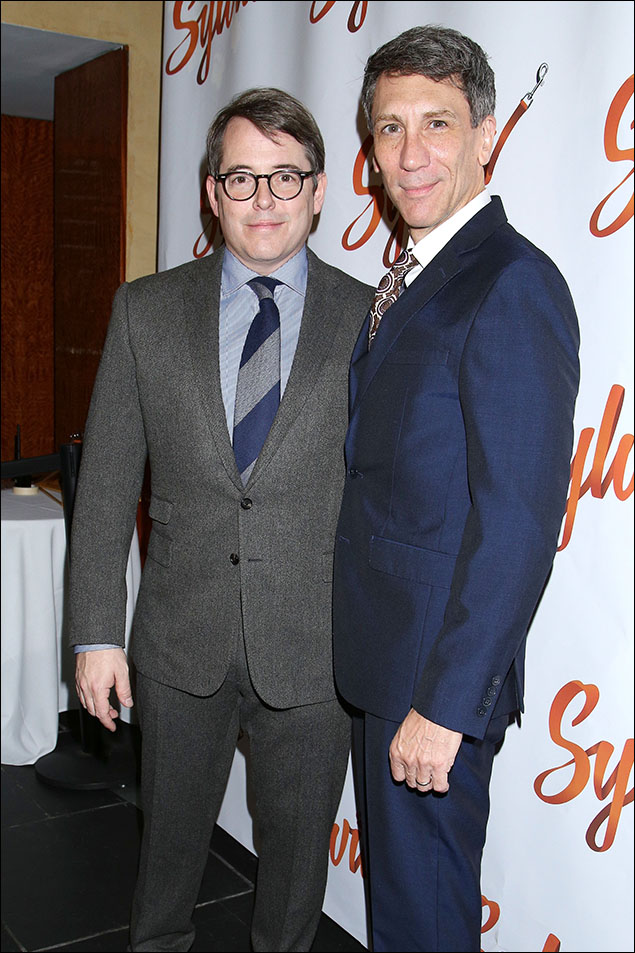 Matthew Broderick and Robert Sella