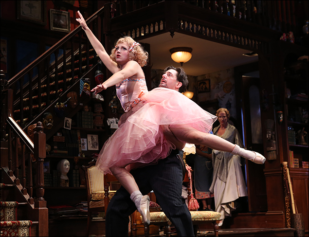 Annaleigh Ashford and Reg Rogers  in You Can't Take It With You, nominated for Best Revival of a Play