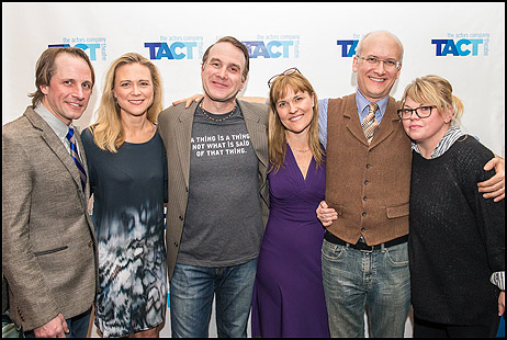 Todd Lawson, Tracy Middendorf, Ted Koch, Kelly McAndrew, Jeff Talbott and Jenn Thompson