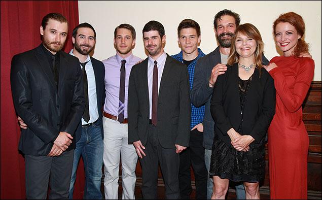 Seth Numrich, Stephen Dexter, Andy Striph, Brian Miskell, Jimi Stanton, Chris Stack, Kathryn Erbe and Jelena Stupljanin