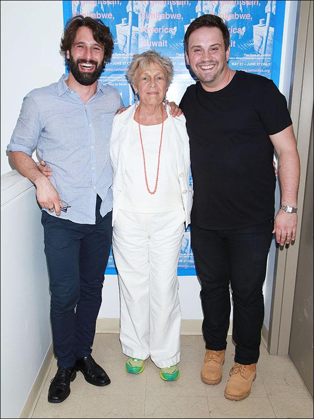 Marco Calvani, Estelle Parsons and Daniel Talbott