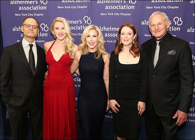David Hyde Pierce, Ashley Campbell, Kim Campbell and Julianne Moore