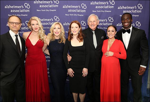 David Hyde Pierce,  Ashley Campbell, Kim Campbell, Julianne Moore, Victor Garber, Pilar Amukamara and Prince Amukamara