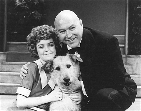 Reid Shelton and Andrea McArdle in the original Broadway production