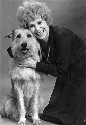 Alice Ghostley and Sandy