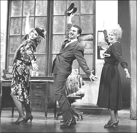 Rita Rudner, Gary Beach and Alice Ghostley in the original Broadway production