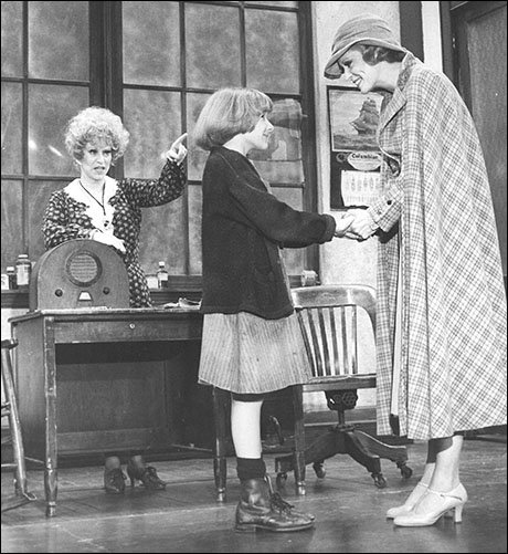 Alice Ghostley, Shelley Bruce and Sandy Faison in the original Broadway production