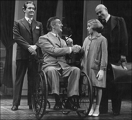 Raymond Thorne, Sarah Jessica Parker and Reid Shelton in the original Broadway production