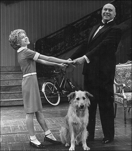 Sarah Jessica Parker and Reid Shelton Orphans in the original Broadway production