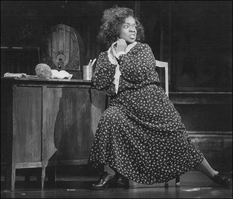 Nell Carter in the 1997 Broadway revival