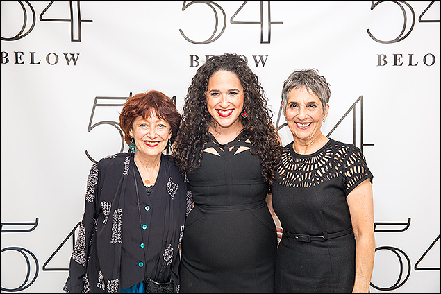 Margery Cohen, Madeline Trumble and Loni Ackerman
