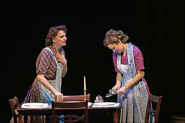 Beth Leavel and Laura Osnes