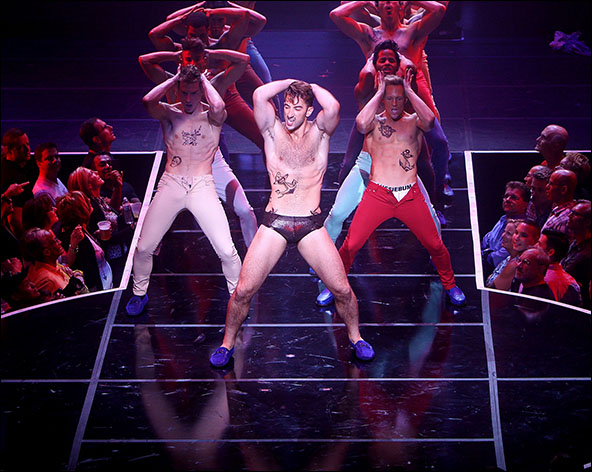 Brandon Rubendall and Cast of Broadway Bares: Rock Hard!
