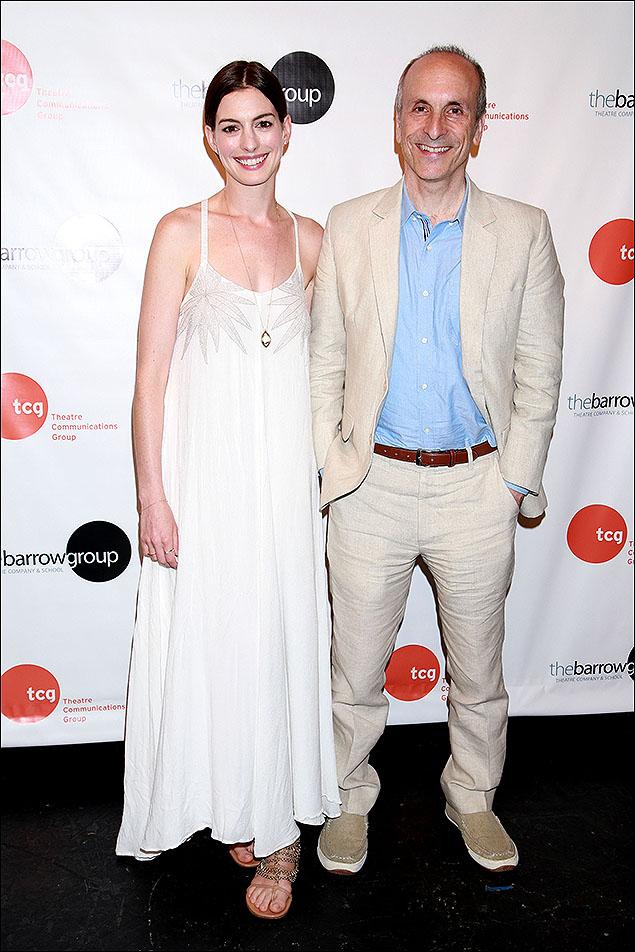 Anne Hathaway and Seth Barrish