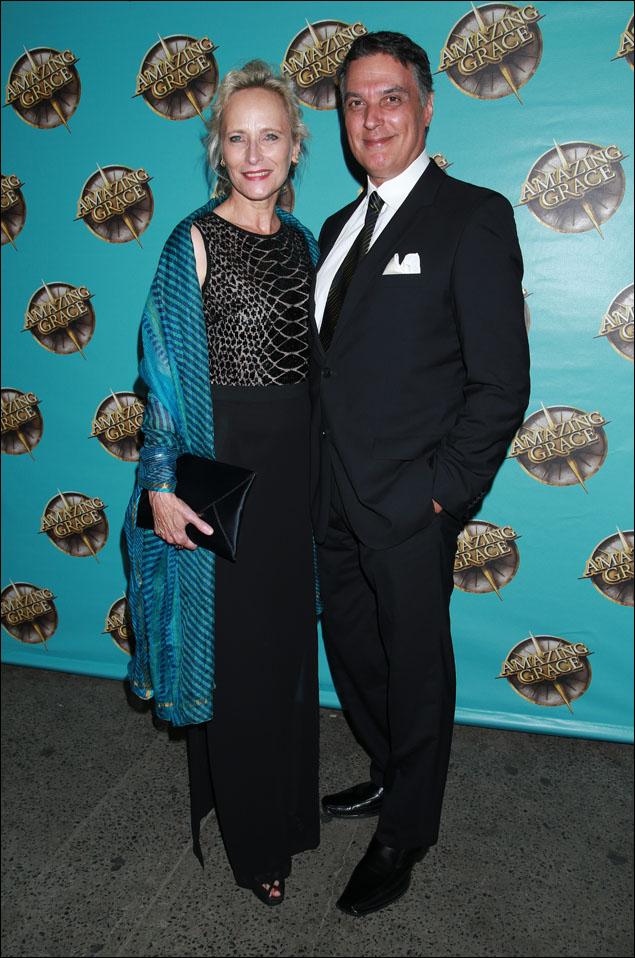Laila Robins and Robert Cuccioli