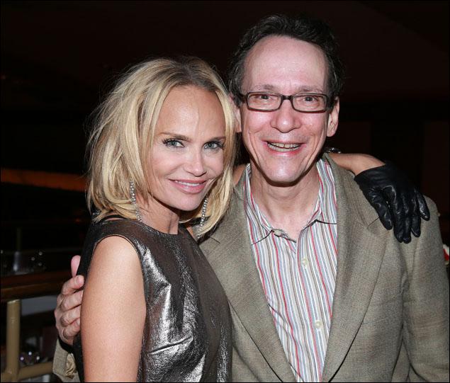 Kristin Chenoweth and Larry Hochman