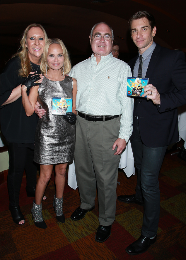 Sydney Beers, Kristin Chenoweth, Scott Ellis and Andy Karl