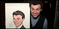 Gent's Guide Stars Jefferson Mays and Bryce Pinkham Honored With Sardi's Caricatures