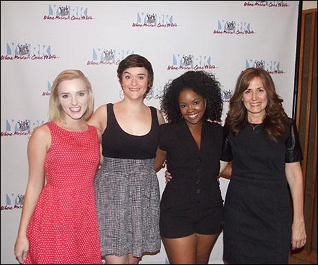 Whitney Brandt, Ryhn Saver, Trista Dollison, and Janet Metz