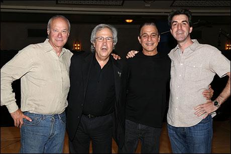 Andrew Bergman, Jeffrey Lesser, Tony Danza and Jason Robert Brown