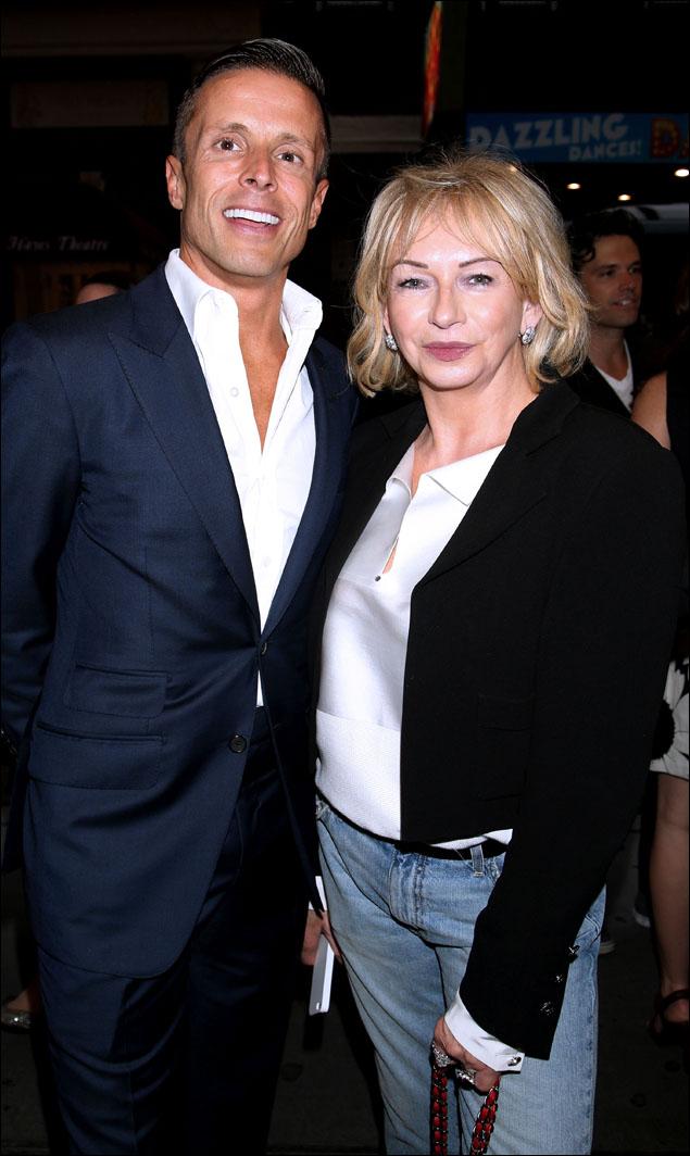 Joe Machota and Judy Craymer
