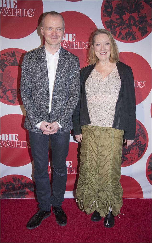 Darko Tresnjak and Kristine Nielsen