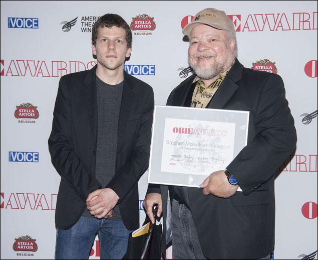 Jesse Eisenberg and Stephen McKinley Henderson
