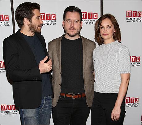 Jake Gyllenhaal, Michael Longhurst and Ruth Wilson