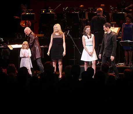 Brooklyn Shuck, Michael Cerveris, Vonda Shepard, Laura Osnes and Tony Vincent in Randy Newman's Faust