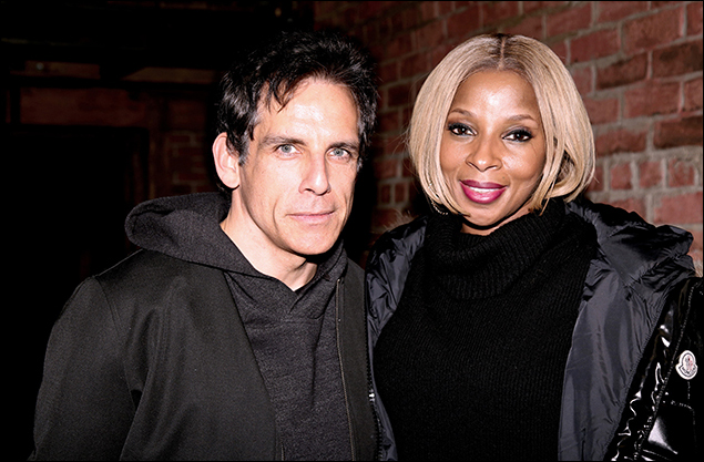 Ben Stiller and Mary J. Blige