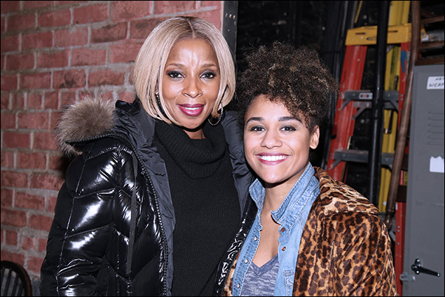 Mary J. Blige and Ariana DeBose