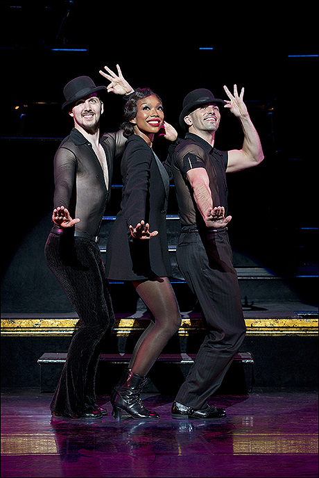 Denny Paschall, Brandy Norwood and Michael Scirrotto
