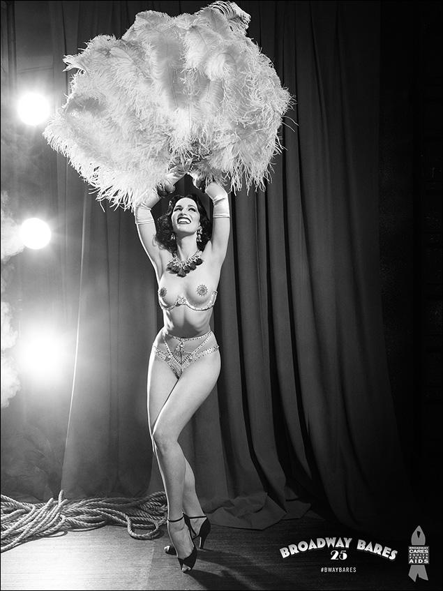 The Burlesque Dancer: Nikka Graff Lanzarone