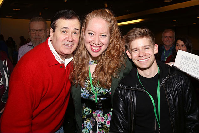 Lee Roy Reams, Jennifer Ashley Tepper and Andrew Keenan-Bolger