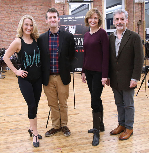 Alison Ewing, Ned Noyes, Shannon Cochran and Mark Nelson