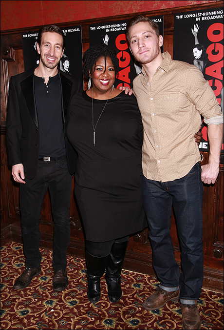 Adam Zotovich, NaTasha Yvette Williams and Adam Jepsen